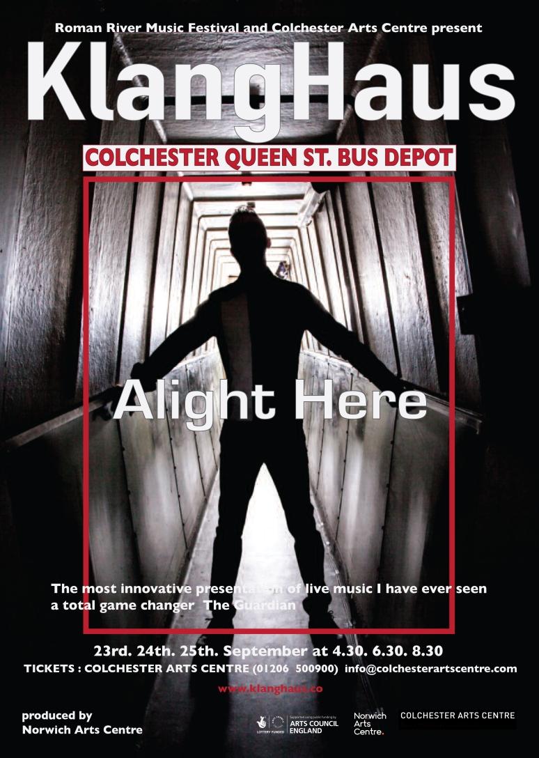 alight poster A3 full mark